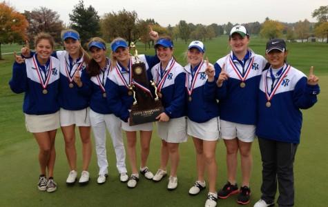 Girls golf wins state