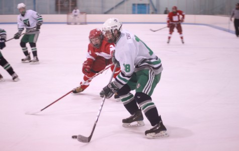 Green team skates past Loyola at Soldier Field