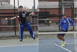 Tennis gets Third in State