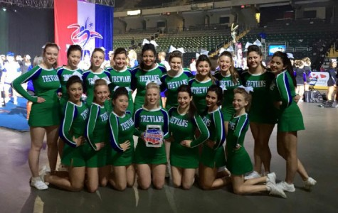 Cheerleading flips history, places second at Nationals