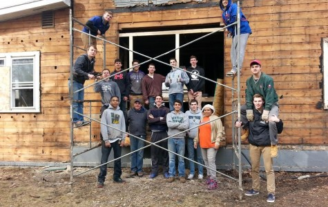 Habitat for Humanity house appears to be behind schedule