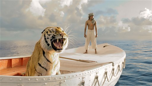Life of Pi, Academy Award winning director Ang Lee's adaptation of the best-selling novel, is set to come out November 1st