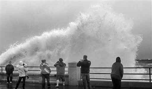 Superstorm Evacuations