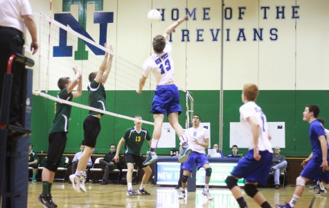 Boys volleyball heats up as state draws near