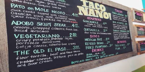 Taco Nano serves up delicious authentic food