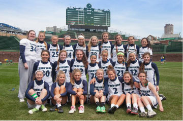 Girls Lacrosse in final four