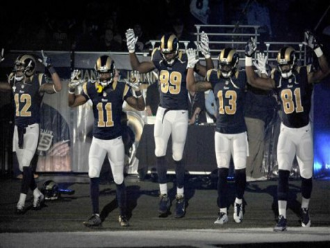 St. Louis Rams players' actions justified