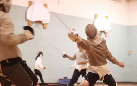 Fencing foils the competition in opener
