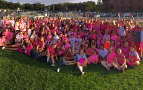 Girls cross country joins Bright Pink's fight against cancer