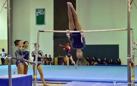 Trevians's gymnastics wipes the floor at Glenbrook North Invite