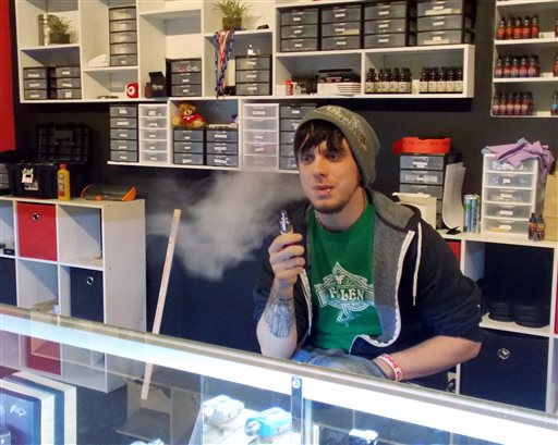 how to get a job at a vape shop