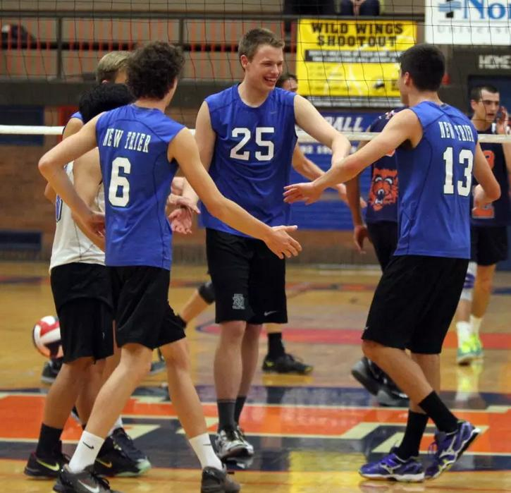 Boys volleyball sneaks past Stevenson