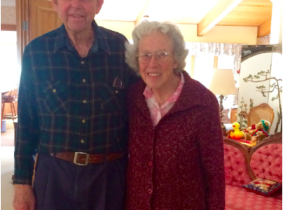 High school sweethearts reflect on their 67 years