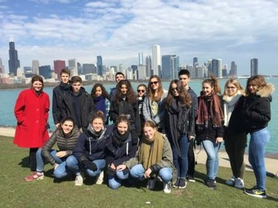Two worlds collide through French exchange program