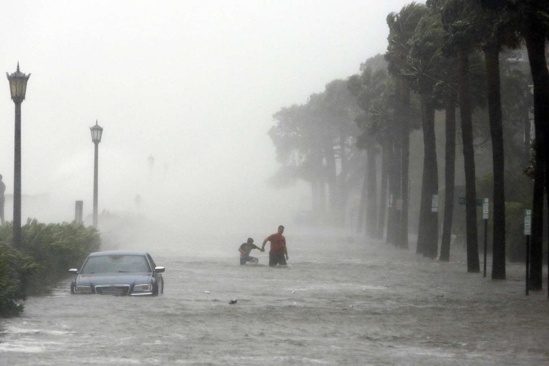 Hurricane Irma hit South Carolina, as well as the U.S. Virgin Islands, Florida, Georgia, and North Carolina hard.   AP