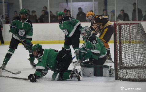 Boys hockey loses to Loyola at Quad Header