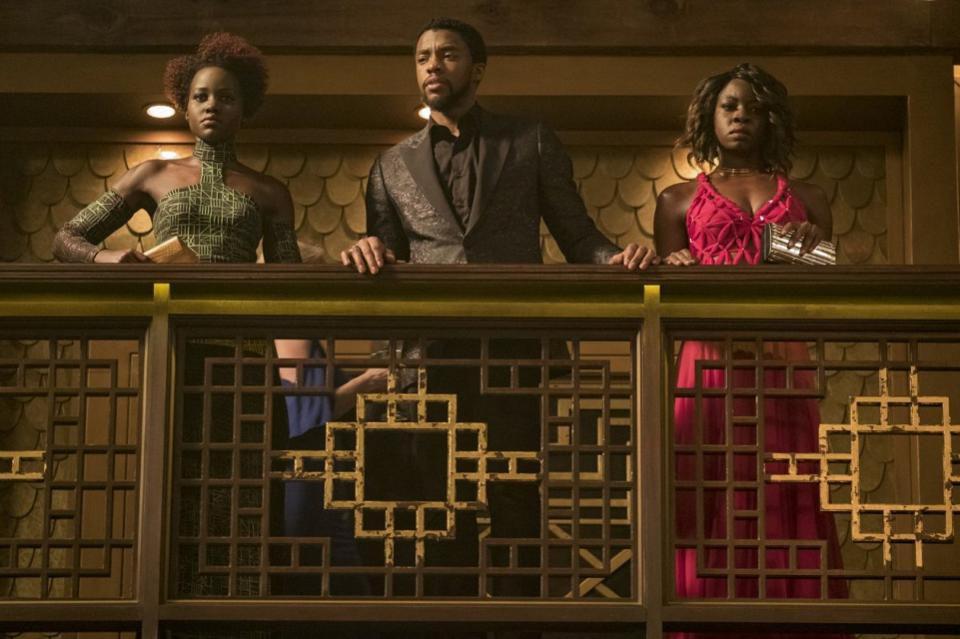 Lupita Nyong'o, Chadwick Boseman, and Danai Gurira shine as the newest icons to join Marvel family | Disney