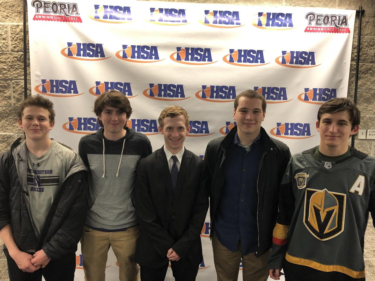 Teddy Kamin, Will Naviaux, Max Rosen, Ben Newcomb, and Frank Zawrazky feeling confident after state | Debate