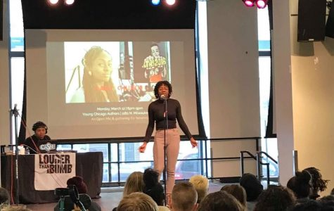 Poems with a purpose at annual Louder Than a Bomb slam festival