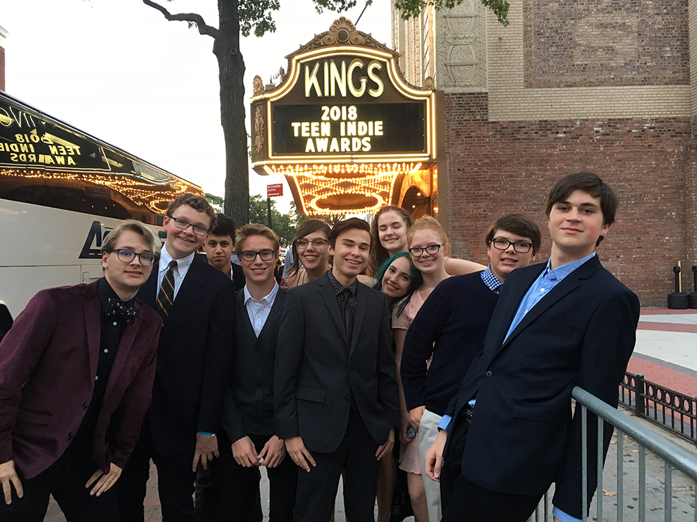 T film at the 6th annual All American High School Film Festival