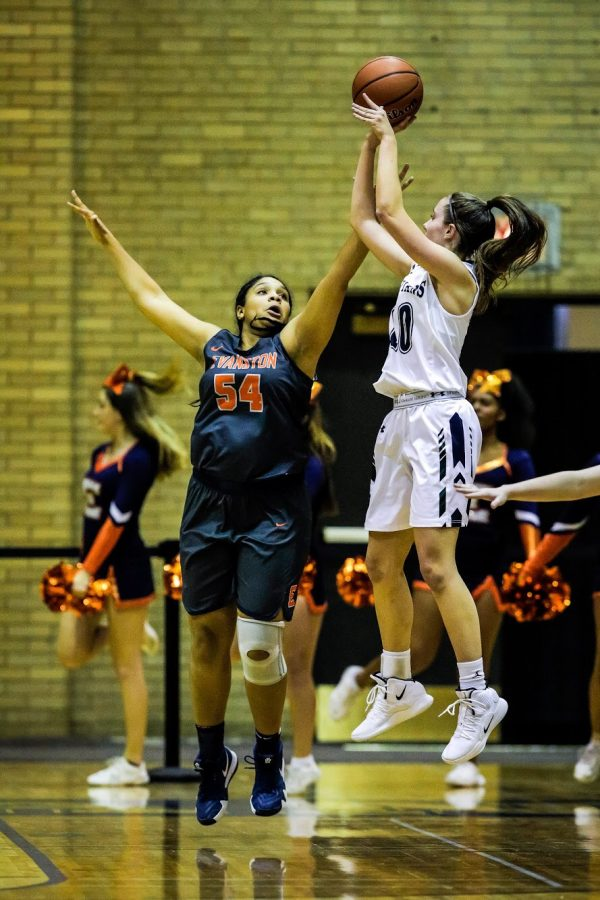 Rebounding hurts GBB in tough loss to Evanston