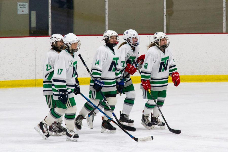Girls Hockey dominates quarterfinals, awaits Loyola rematch