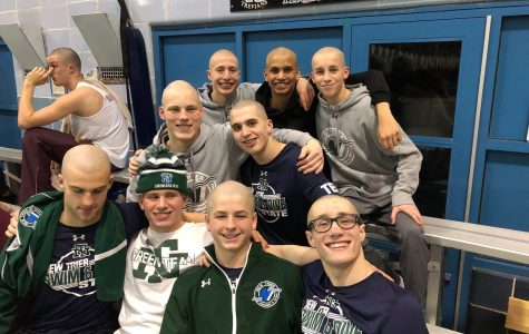 Boys Swim and Dive reaches their top twenty goal