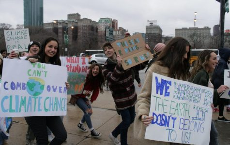 High schoolers strike against climate change inaction