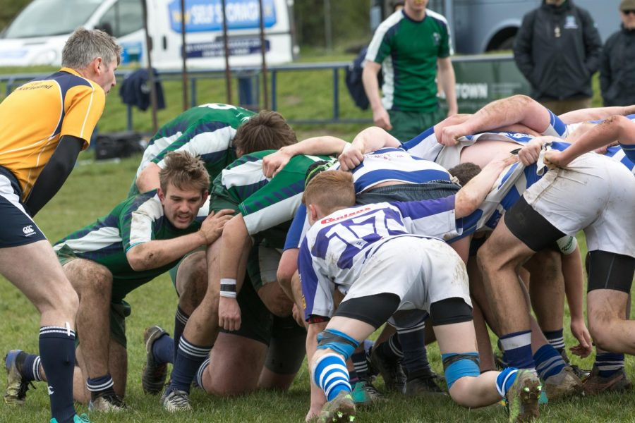 Rugby team takes on Ireland competition