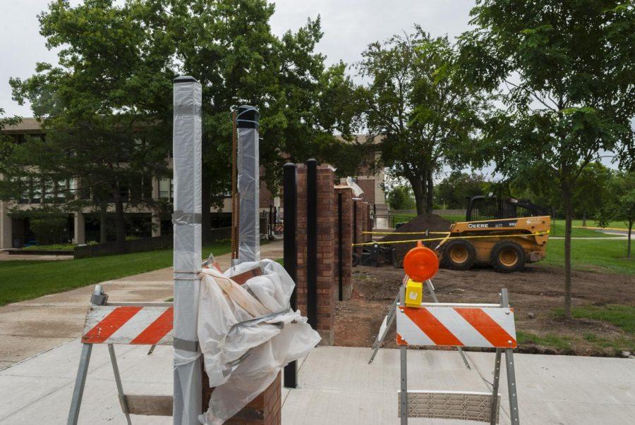 Progress of the million dollar construction at the freshman campus