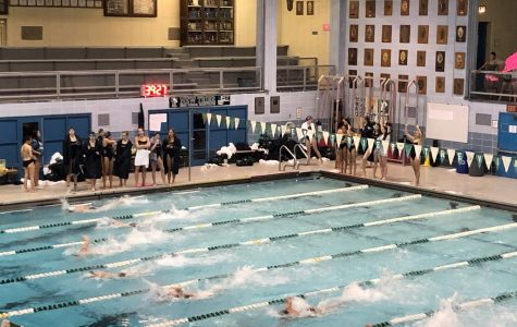 Girls swimming and diving defeats Ramblers in rivalry meet