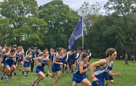 Boys cross country placed first at Libertyville Invite Sept. 21 despite an abundance of rain, mud, and hills
