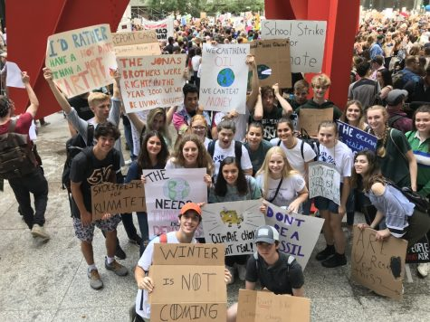 Students rally in Chicago on Sept. 19, 2019 for climate reform