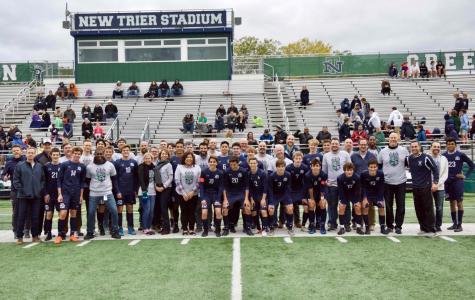 Boys soccer battles to tie Warren Township