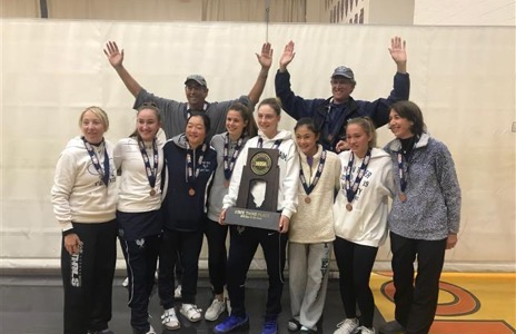 Girls tennis claims bronze medal at state