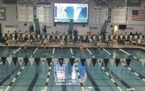 Boys swim and dive beats Naperville Central in dual meet