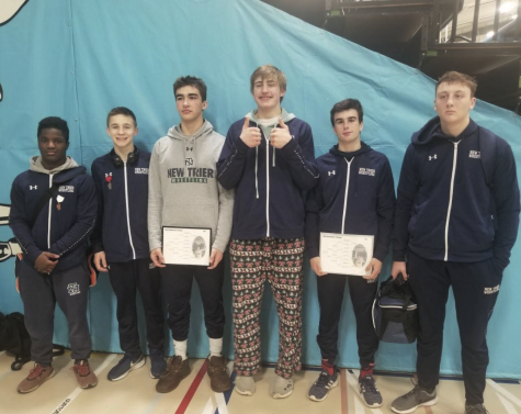 Wrestling enjoys outstanding season