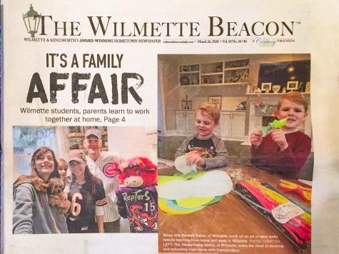 The last issue of one of the papers owned by 22nd Century Media, the Wilmette Beacon, was published on March 26, 2020