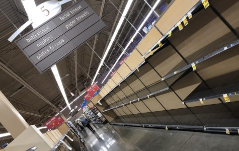 Stores like Mariano's cannot keep their stock of toilet paper on the shelves during this pandemic