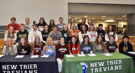 New Trier national signing day 2020