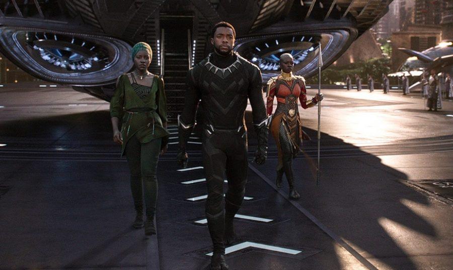 Boseman (middle) as