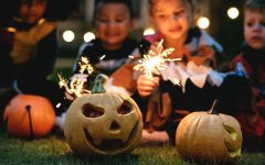 Parents and children are creating alternate way to celebrate Halloween this year as the pandemic spoils the traditional trick-or-treating
