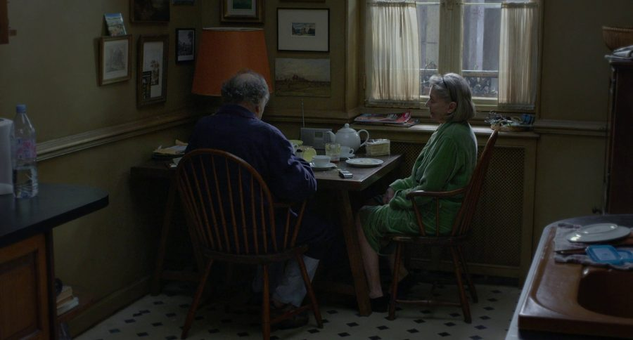 Still from Amour, which is among many foreign films which depict life with great simplicity, detail, and beauty