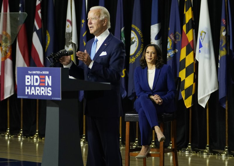 President Joe Biden and Vice President Kamala Harris prepare for a long journey to the White House