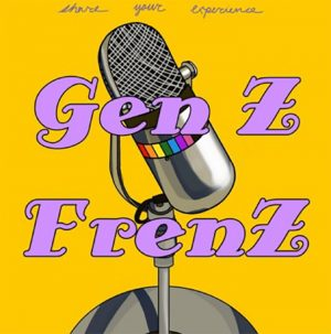 Gen Z FrenZ  episodes created by sophomores Wang, Shangguan, and  Calkins can be found on their instagram, genzfrenzpodcast