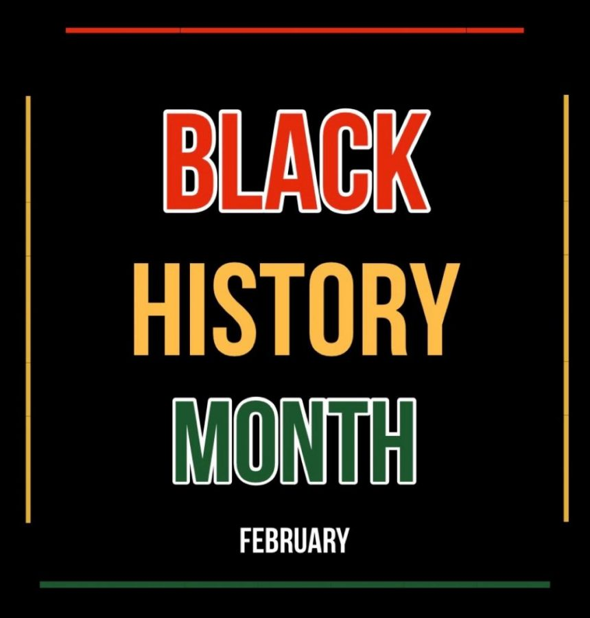 Black History Month is recognized throughout the month of February and is meant to recognize African American history