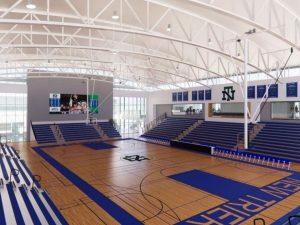 Design for the new Gates Gym