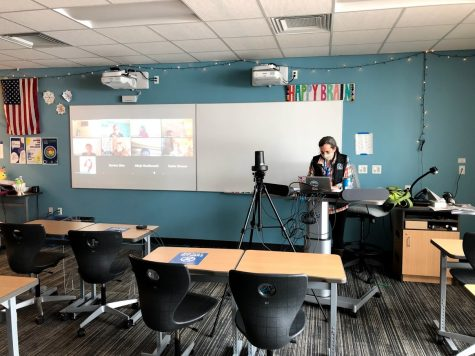Isolation in the hybrid classroom