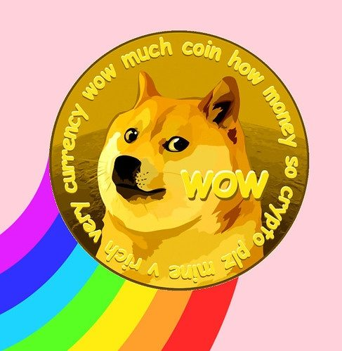 """Fun and friendly internet currency"" Dogecoin prices have skyrocketed recently, thanks to newfound popularity."