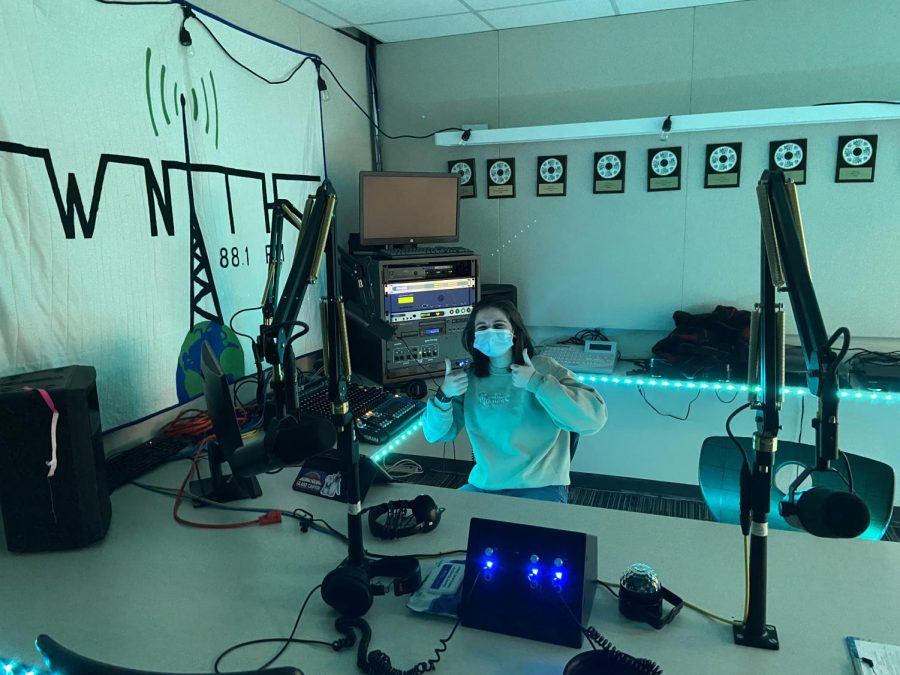 Juliette Rechtin recording for Midnight Soup